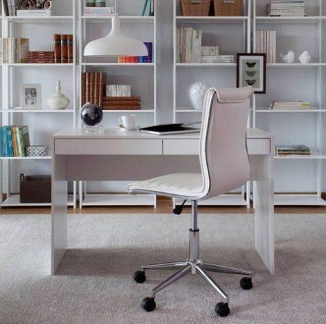 escrivaninha com gavetas para home office