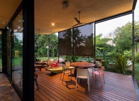 conforto térmico na casa de vidro - Reyes Ríos + Larraín - 6