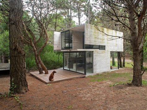 casa pequena e moderna - luciano kruk - 1