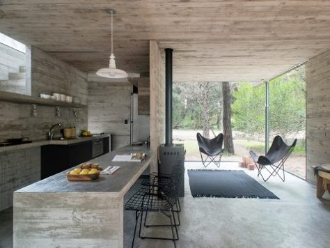 casa pequena e moderna - luciano kruk - 2