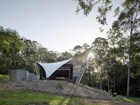 casa tenda - sparks architects - 2