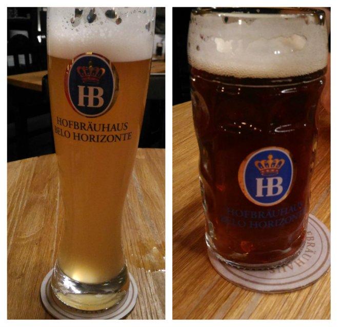 Cervejas Hefe Weizen e Dunkel