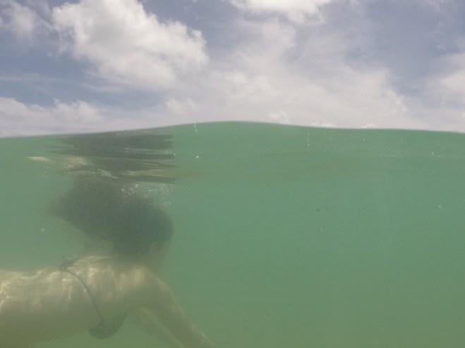 Mergulho no lado oposto da ilha