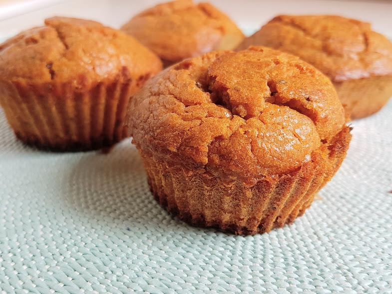 Muffins de limão e chia