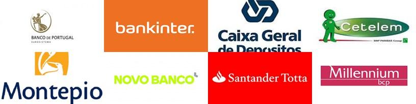 Consulte a base de dados das suas contas bancárias