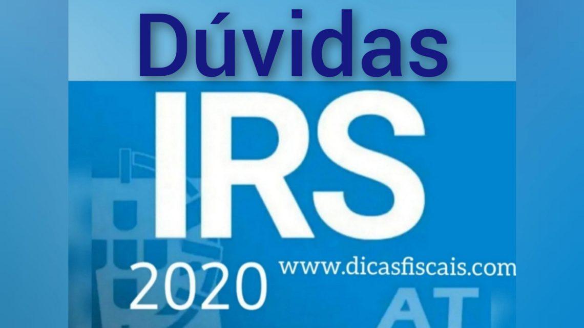 Dúvidas Sobre o IRS