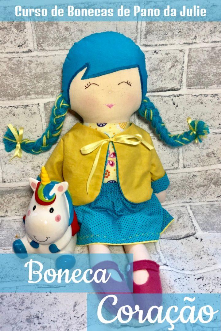 Boneca de Pano - Coração
