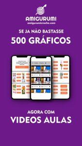 Gráficos de Amigurumis em português