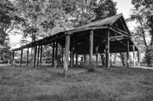 The old shearing shed Kyneton
