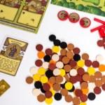 Żetony w grze Agricola