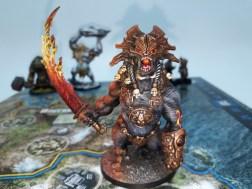 Pomalowana figurka z gry Blood Rage