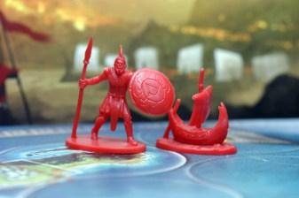Figurki jednej frakcji z gry Cyklady