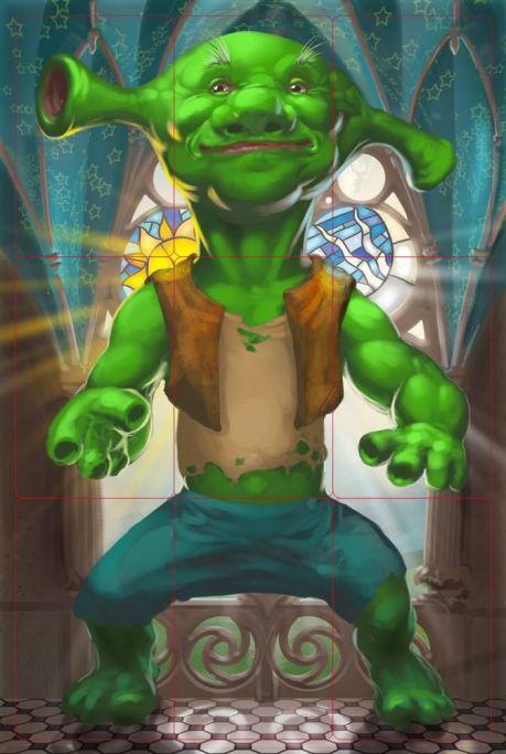 Fantastic Creature new a Shrek
