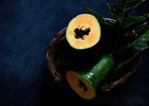 Papaya-unripe-halwa