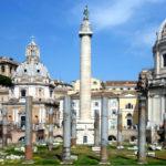 Điều gì được chạm khắc trên cột đá ở Rome