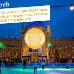 Thủ đô Zagreb của Croatia là nơi có chợ Giáng sinh đẹp nhất châu Âu