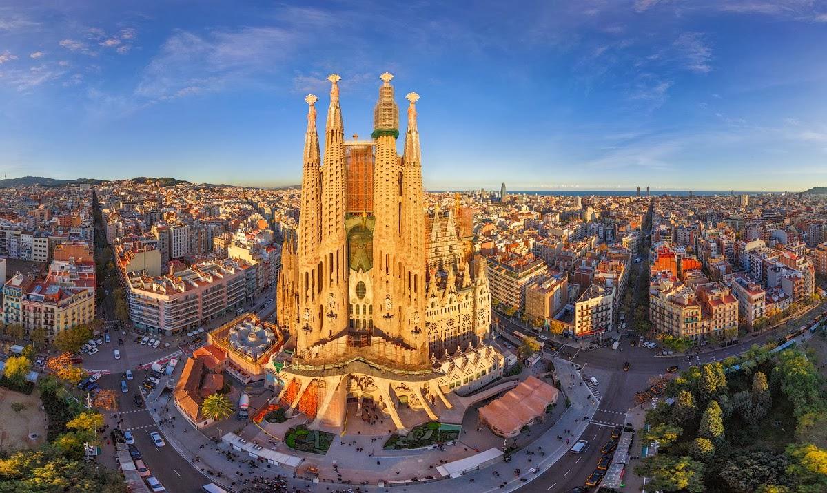 Kết quả hình ảnh cho thành phố Barcelona