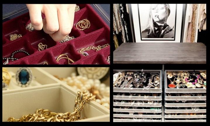 Sertar pentru depozitarea bijuteriilor