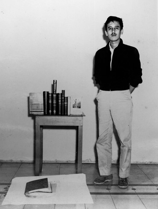 Roque Dalton, a photograph without date from the collection at Museo de la Palabra y la Imagen (Museum of Words and Imagery). You can find more here