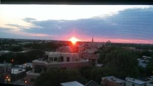 Summer Sunset, July 2018.