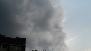 A real storm cloud, Summer 2017.