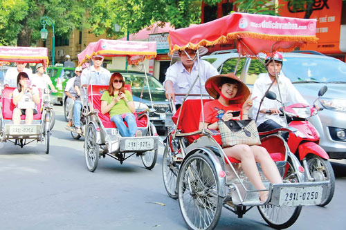 Image result for xich lo o ha noi