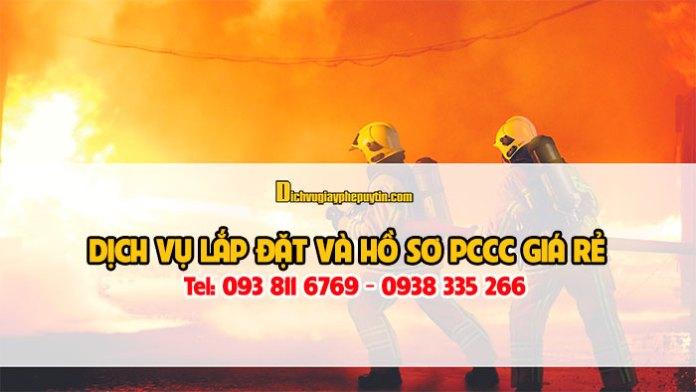 Dịch vụ tư vấn thiết kế lắp đặt pccc và hồ sơ pccc tại quận 2
