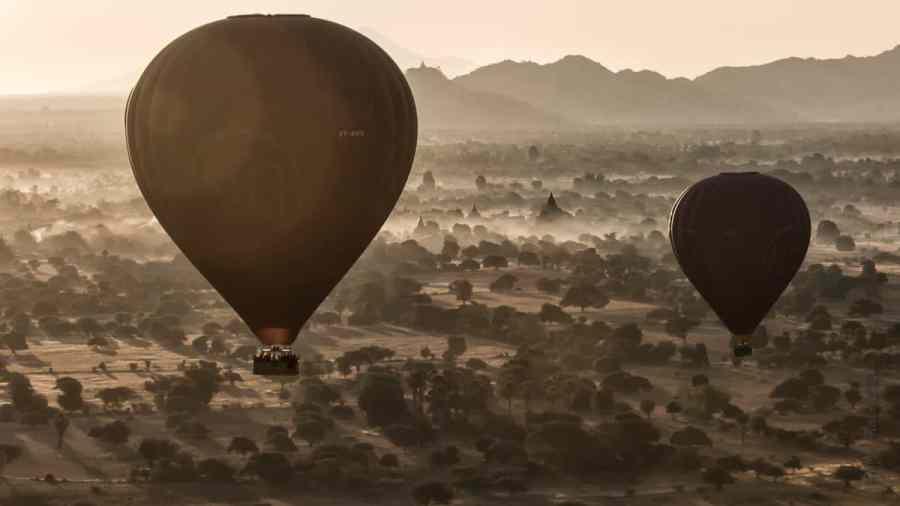 La magie du vol en montgolfière