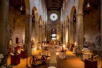 Exposition Léonard de Vinci dans l'église San Cristoforo
