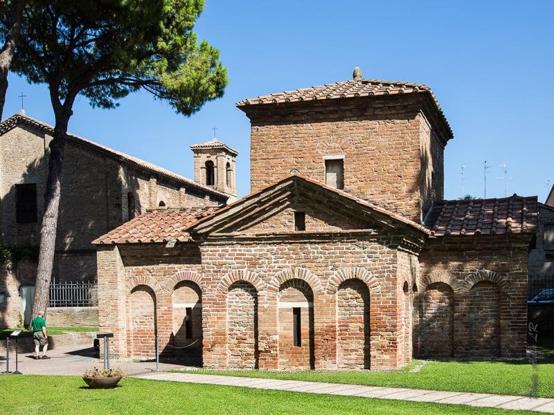 Mausolée de Galla Placidia à Ravenne classé au patrimoine mondial de l'Unesco
