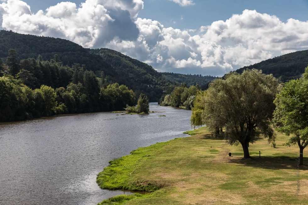 Sur les berges de la Loire, une aire de détente