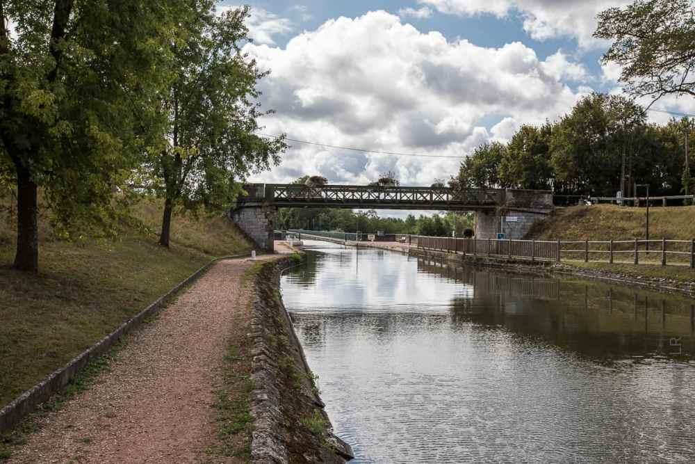 Pont-canal de Digoin en rive droite