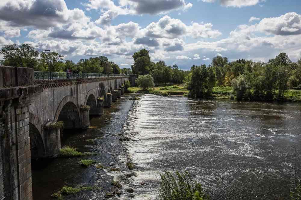 Loire à l'aval du pont-canal