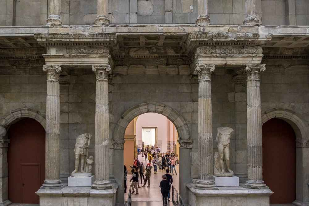 Porte marché Milet