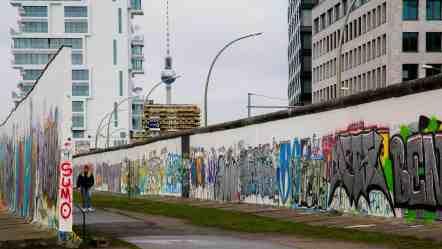 A Berlin, l'East Side Gallery