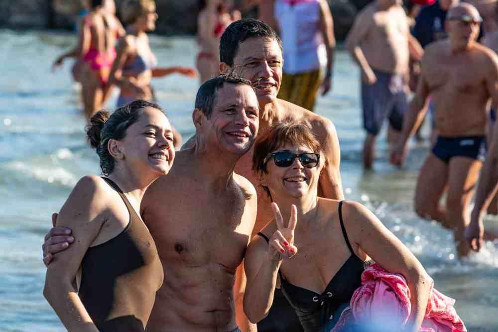 Le bain du jour de l'an 2019 à Antibes -30