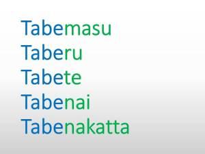 Conjugaison des verbes en japonais