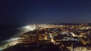 Night view from Hotel El Puerto Fuengirola