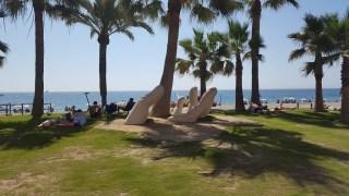 Fuengirola Beach art