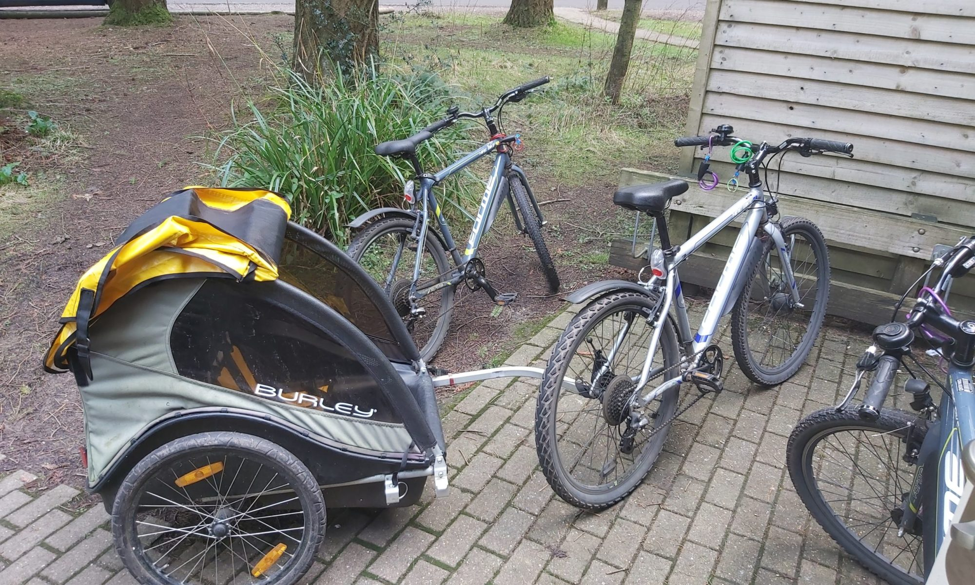 Bicycle hire Centerparcs Longleat