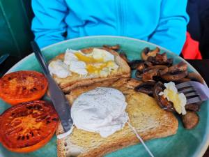 Massive vegetarian breakfast