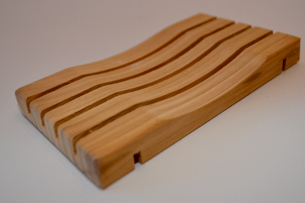 White Cedar Soap Dish