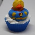 Super ducky soap cupcake