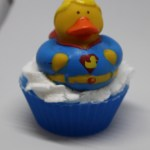 Super ducky soap cupcake