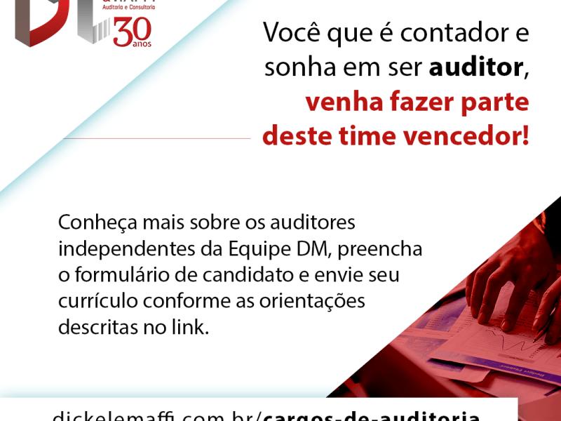Processo Seleção Auditoria DM 2021
