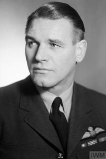 ROYAL AIR FORCE: 2ND TACTICAL AIR FORCE, 1943-1945. (CH 12661) Group Captain A G Malan when Officer Commanding No. 20 Wing. Photograph taken at the Air Ministry Studios, London. Copyright: © IWM. Original Source: http://www.iwm.org.uk/collections/item/object/205210528