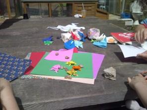 We had Ioana Stoian showing us great origami