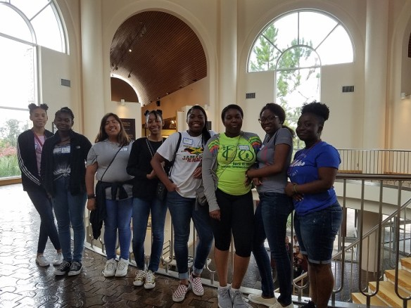 Dickerson Civic Center Youth Ambassador Service Learning at African American Museum Dallas 1