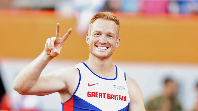 Great Britan's Greg Rutherford is gunning for his second Olympic long jump title.