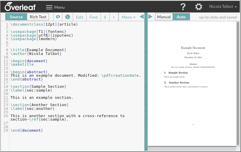 Overleaf: Making LaTeX Accessible For Everyone